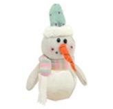 Envase Plástico Muñeco de Nieve Sweet Wishes