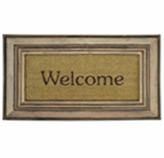 Alfombra  Welcome  de Caucho y  Yute    70x45cm
