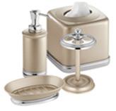 Accesorios para Baño York Champagne Interdesign