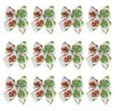 Lazos para Regalo con Diseño de Bombillo en Set de 12 Piezas
