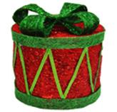 Tambor Rojo   Verde  con Luz