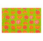 Individual Verde con Diseños de Naranjas 30x45cm Concept