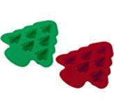 Molde de Silicón para Muffins x 6 con Diseño de Árbol