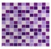 Mosaico de Cristal Mix Lila 30x30cm (0.09)