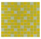 Mosaico de Cristal Mix Amarillo 30x30cm (0.09)