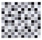 Mosaico de Cristal Mix Negro 30x30cm (0.09)