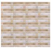 Mosaico de Cristal Line Torna Beige 31x31cm (0.09)