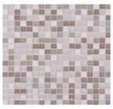 Mosaico de Cristal Mármol Mini Beige  30x30cm