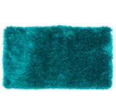 Alfombra Peluda Mix Azul