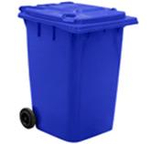 Tacho  Móvil Azul  para Basura