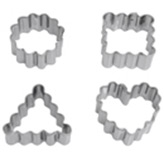 Cortador de Fondant Figura Geométrica  en Set de 4 Piezas Wilton