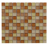 Mosaico de Cristal Mix   Café Claro  30x30cm (.09)