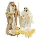 Nacimiento Sagrada Familia en Set de 3  Piezas