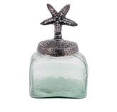 Envase de Vidrio con Tapa Estrella de Mar