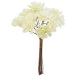 Pick Flores Blancas 9cm