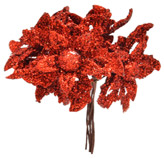 Pick  Flores Rojas  10cm