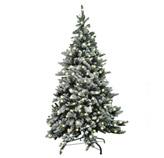 Árbol de Navidad Nevada con 350 Luz Led 210cm 990 Tips