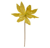 Ponsetia Navideña  Oro  53cm