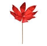 Ponsetia Navideña Roja 53cm