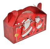 Caja de Regalo Santa 20x14cm