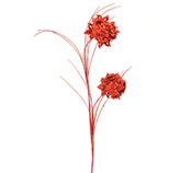 Rama Navideña Roja  70cm