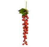 Pick de Uvas Navideñas Rojo 55cm