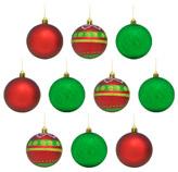 Bola Navideña en Set de 10 Piezas Christmas Traditions