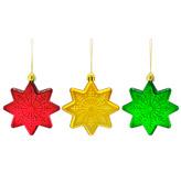 Estrella Colgante en Set de 3 Piezas Christmas Traditions