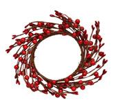 Corona Rojo Cerezo 20cm Noel´s Woodland