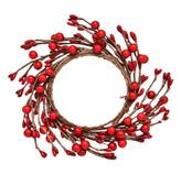 Corona Rojo Cerezo  Noel´s Woodland