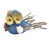 Pájaro Navideño Vintage Xmas