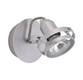 Lámpara Móvil de Pared Cromo Mate de 1 Boquilla