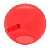 Lámpara de Vidrio Roja para Mesa