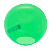 Lámpara de Vidrio Verde  para Mesa