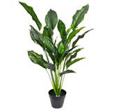 Maceta Artificial Decorativa  Spathiphyllum