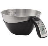 Balanza para Cocina Tazón Digital Negro de 11lb Camry