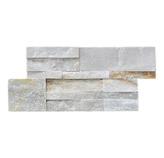 Piedra Interlock Blanco 18x35cm