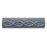 Listelo Resina Azul 5x20cm