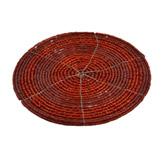 Porta Vaso Rojo Canutillo en Set de 4 Piezas