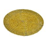 Porta Vaso Dorado Canutillo en Set de 4 Piezas