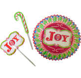 Pirutín con Letrero Joy 24 Piezas Wilton