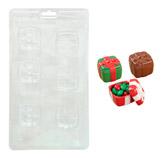 Molde para Caramelos 3D Caja de Regalo Wilton