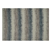 Alfombra Ikat Stripes Blue 152x213cm
