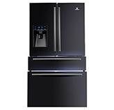 Refrigeradora French Door RI-995I Inverter 690 Litros  BlackSteel Indurama