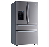 Refrigeradora French Door RI-995I Inverter 690 Litros Cromada Indurama