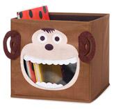 Caja Organizadora de Juguetes Diseño de Mono