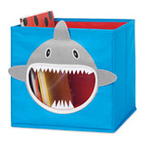 Caja Organizadora de Juguetes Diseño de Tiburón