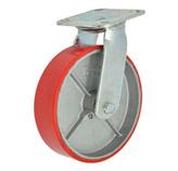 Rueda Roja con Plataforma 8x2