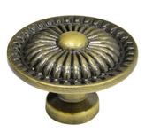 Pomo Bronce  Antiguo 3.3x2.4cm