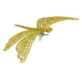 Libélula Decorativa  Oro